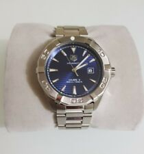 TAG HEUER AQUARACER CALIBRE 5 AUTOMATIC STAINLESS STEEL WATCH