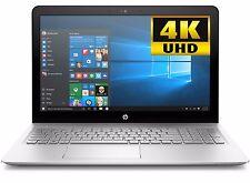 "HP Envy 15 15.6"" 4K UHD Laptop Intel i7-7500U 8GB 1TB WiFi BT Backlit KB W10"
