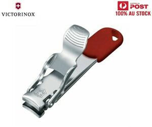 VICTORINOX Nail Clipper Top Quality Little Nail Cutter 2 Functions Swiss Made