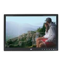 15 Pouces écran Tactile Cadre Photo Numérique 1280x800 HD Léger ABS de Qualité