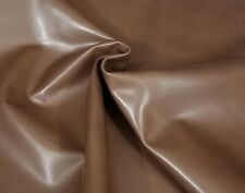 Dusty Brown Goat Skin Leather Hide Appr 3.0sf Crafts Binding Handbag Upholstery