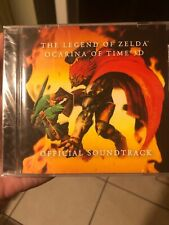 Legend of Zelda: Ocarina of Time 3D Official Soundtrack CD Factory Sealed