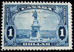 CANADA – Sc #227 – $1 – BLUE – USED – 1935