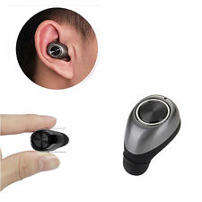 Wireless Mini Bluetooth V4.1 Stereo In-Ear Headset Earphone For Huawei LG Nokia