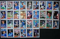 1992 Topps Toronto Blue Jays Team Set of 33 Baseball Cards