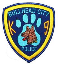 BULLHEAD CITY – K-9 - ARIZONA AZ Sheriff Police Patch DOG PAW GERMAN SHEPHERD ~