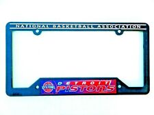 Detroit Pistons License Plate Frame (NBA)(Wincraft)