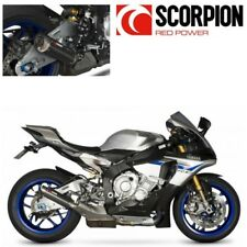 SILENCIEUX POT ECHAPPEMENT SCORPION RP1-GP CARBONE YAMAHA YZF R1 R1M 2015-2017
