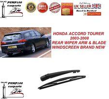 HONDA ACCORD MK7 TOURER ESTATE 2002-2008 REAR WIPER ARM & BLADE WINDSCREEN NEW