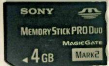 4GB Memory Stick PRO Duo Card - MS-MT4G