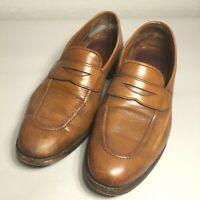 Allen Edmonds Men's 9.5 E Walnut Lake Forest Penny Loafers Dress Shoes Slip On