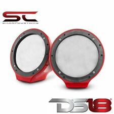 "Ds18 Nxl-Js6-Rd 6.5"" Jet Ski Marine Jeep Utv Atv Pod Enclosures No Speaker Red"