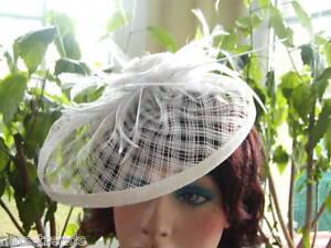 Fascinator Headdress Elegant Wedding Ascot Special Occasion