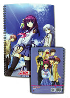 Angel Beats Spiral Notebook Note Book Anime NEW