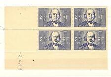 TIMBRES FRANCE BLOC DE 4 COINS DATE YVERT N° 439