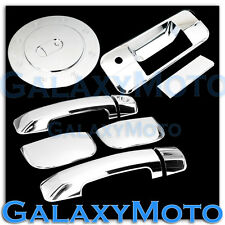 07-12 TOYOTA TUNDRA DOUBLE CAB Chrome 4 Door Handle no PSG KH+Tailgate+Gas Cover