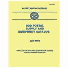 DoD Postal Supply and Equipment Catalog (DoD 4525. 6-C) by Department Defense...