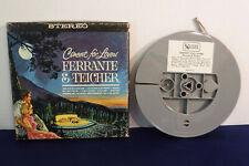 Ferrante & Teicher, Concert For Lovers, MUA 631, 1963, 4 track 7.5 IPS Reel,Jazz