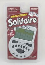 Mega Screen Solitaire Game Electronic Handheld Game Draw 1 Draw 3 New