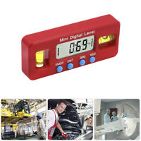 nw Mini Digital Protractor Inclinometer Magnetic Angle Finder Level Gauge