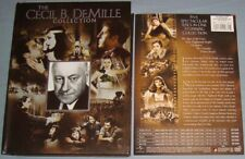 THE CECIL B DEMILLE COLLECTION DVD boxset Cleopatra/Sign of the Cross/Crusades++