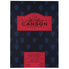 Canson : Heritage : Watercolour Paper Pad : 300gsm : 26x36cm : 12 Sheets : Hot P