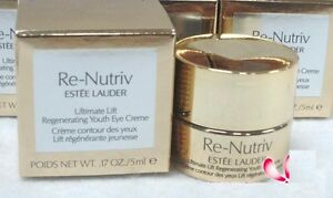 ESTEE LAUDER Re-Nutriv Ultimate Lift Regeneration Youth Eye Cream 5ml NIB