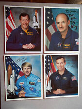 STS-108 Complete Set of Autographed 10 Crew Singles - Very Tough Set