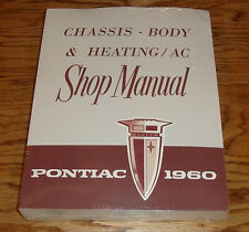 1960 Pontiac Chassis Body Heating / AC Service Shop Manual 60