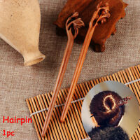 Peachwood Carved  Hairpin Chopstick Hair Stick Hair Accessories Styling Tools