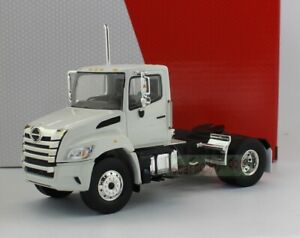 1/43 Scale FIRST GEAR HINO XL8 DAY CAB TANDEM AXLE CHASSIS HINO TRUCKS white