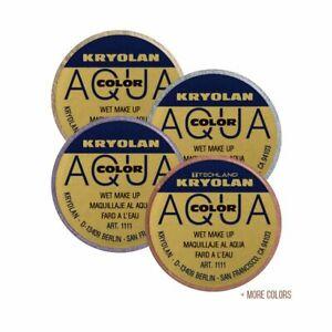 Kryolan Aqua Color Makeup & Interferenz Metallic Color Makeuo .5oz