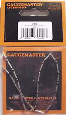 Gaugemaster GM18-a 24 x N Gauge Fishplates (Track Joiners) Fit 80 & 55 Track 1st