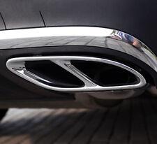 2* Exhaust Muffler Cover Trim for Mercedes Benz E CLA GLE GLS Class W212 2014-17