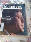 "NEWSWEEK DEC 2, 1963 JOHN FITZGERALD KENNEDY 1917-1963 ""THE DAY KENNEDY DIED"""