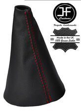 RED STITCH REAL LEATHER GEAR STICK GAITER FOR ROVER STREETWISE 2003-2005