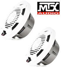MTX WET65-W 6.5 inch 65W RMS 4Ω Coaxial Marine Speaker Pair free shipping
