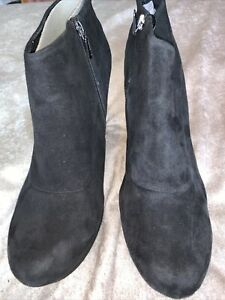 clarks ankle Shoe boots 8 suede Katelina Bay 4 Nwob