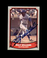 Billy Williams Signed 1988 Pacific Baseball Legends Chicago Cubs Autograph