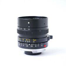 Leica ELMARIT-M 28mm f/2.8 ELC CANADA rangefinder lens 11804 ver iii