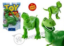 Disney Pixar Toy Story 4 REX MOVIE ACTION FIGURE ARTICULATED MATTEL TS 2019 DINO