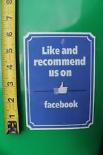 FACEBOOK Like and Recommend Us Social Media Mark Zuckerberg MISC MUSIC STICKER