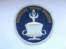 saunders trophy vintage  raf cloth patch