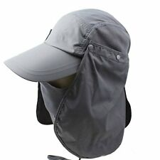 Hat Visor Folding Cap US 360 Protection Travel Block Nylon UV Fishing Sun Hiking