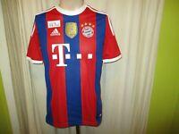 "FC Bayern München Original Adidas Heim Trikot 2014/15 ""-T---"" Gr.S- M Neu"