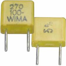 20 WIMA Fkc Condensateurs 270pf 100 V rm-5 de fabrication Stock excédentaire Condensateur
