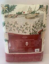 Lenox Holiday Christmas Table Cloth Fabric Tablecloth 60x120 New NIP