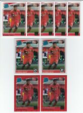 2018-19 PANINI DONRUSS SOCCER ALPHONSO DAVIES ROOKIE & DIFFERENT PARALLEL LOT(9)