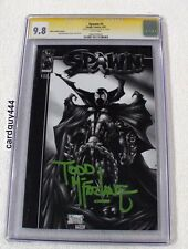Spawn #1 Black White Todd McFarlane Rare Autograph Signed High End CGC 9.8 Mint