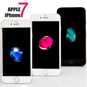 Apple iPhone 7 32GB 128GB Silber Schwarz Gold Rosegold Ohne Simlock WIE NEU